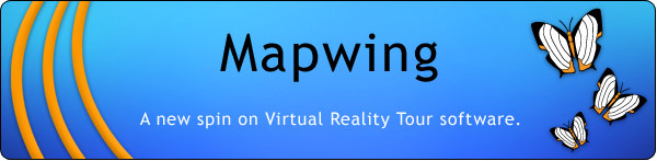 Mapwing, a new spin on Virtual Reality Tour software.